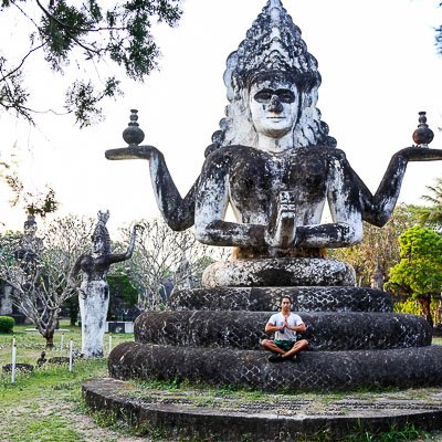 Buddha Park Vientiane Laos-4