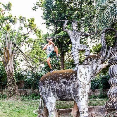 Buddha Park Vientiane Laos-5