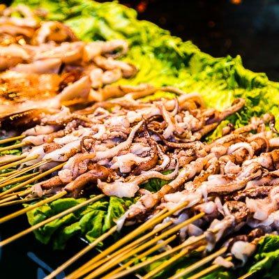 Food Street Xian China-3