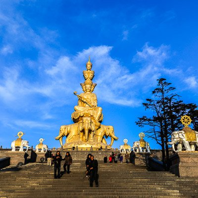 Golden Summit Mount Emei Sichuan China-2