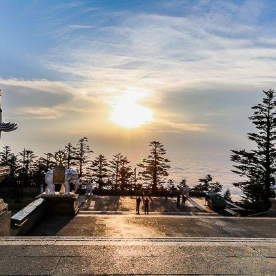 Golden Summit Mount Emei Sichuan China