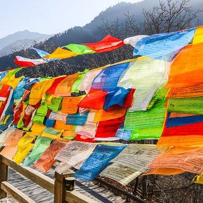 Jiuzhaigou National Park Sichuan China-2