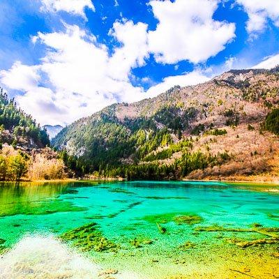 Jiuzhaigou National Park Sichuan China-3