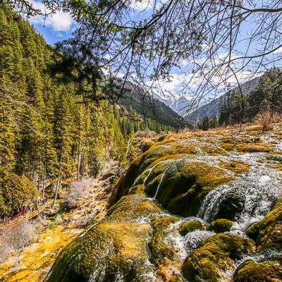 Jiuzhaigou National Park Sichuan China-4