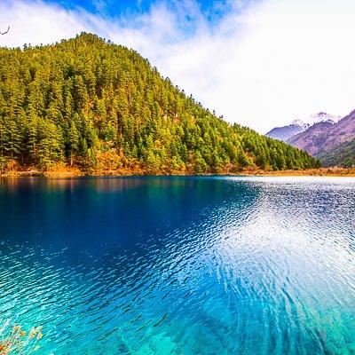 Jiuzhaigou National Park Sichuan China-5
