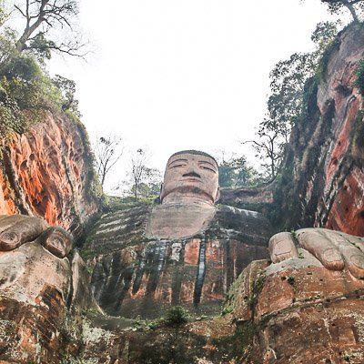 Leshan Giant Buddha Sichuan China-5