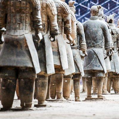 Terracotta Warriors Xian China-3