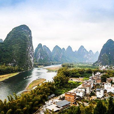 Xingpingzhen Yangshuo Guilin Guangxi China 5