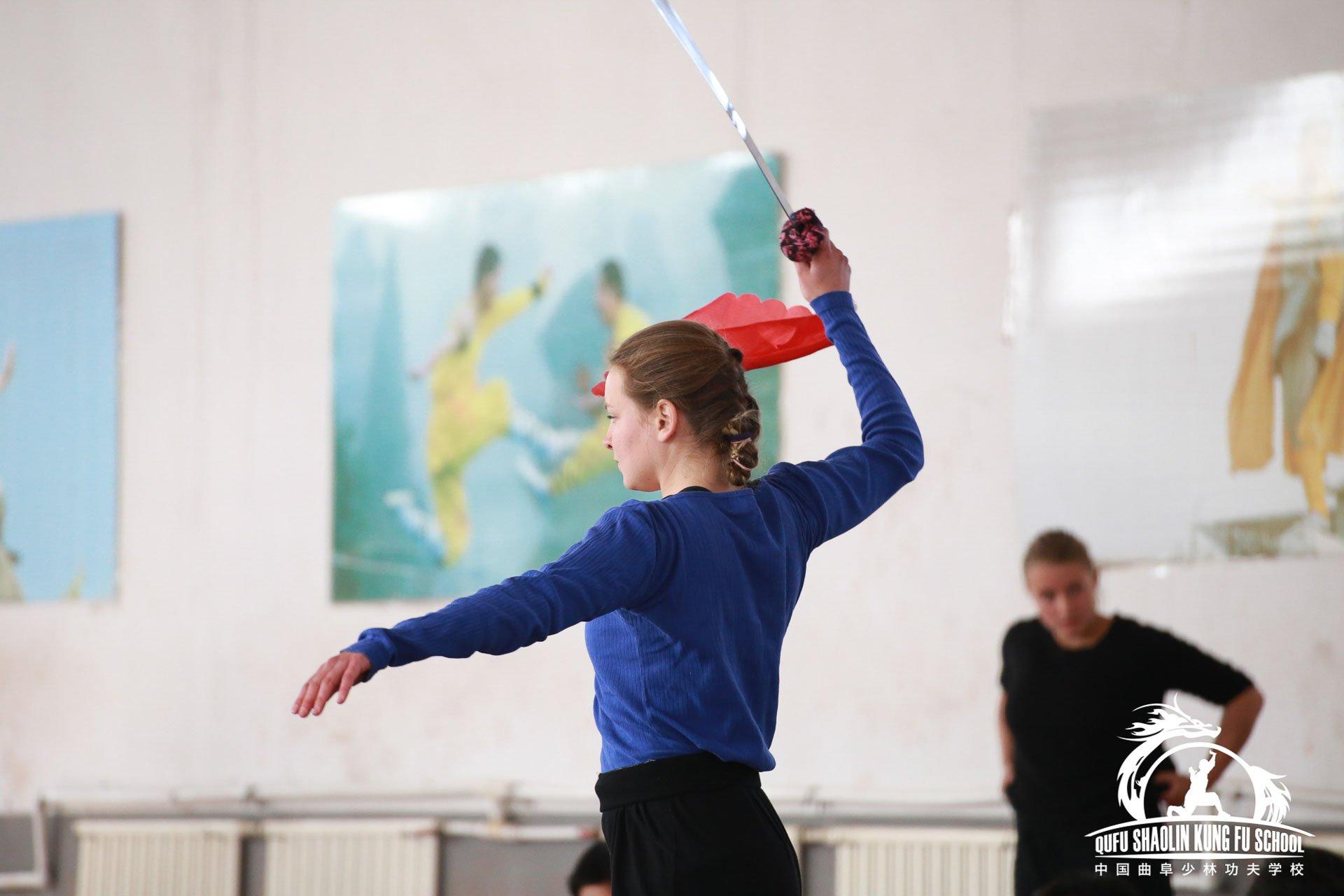 Kung Fu Broadsword Form