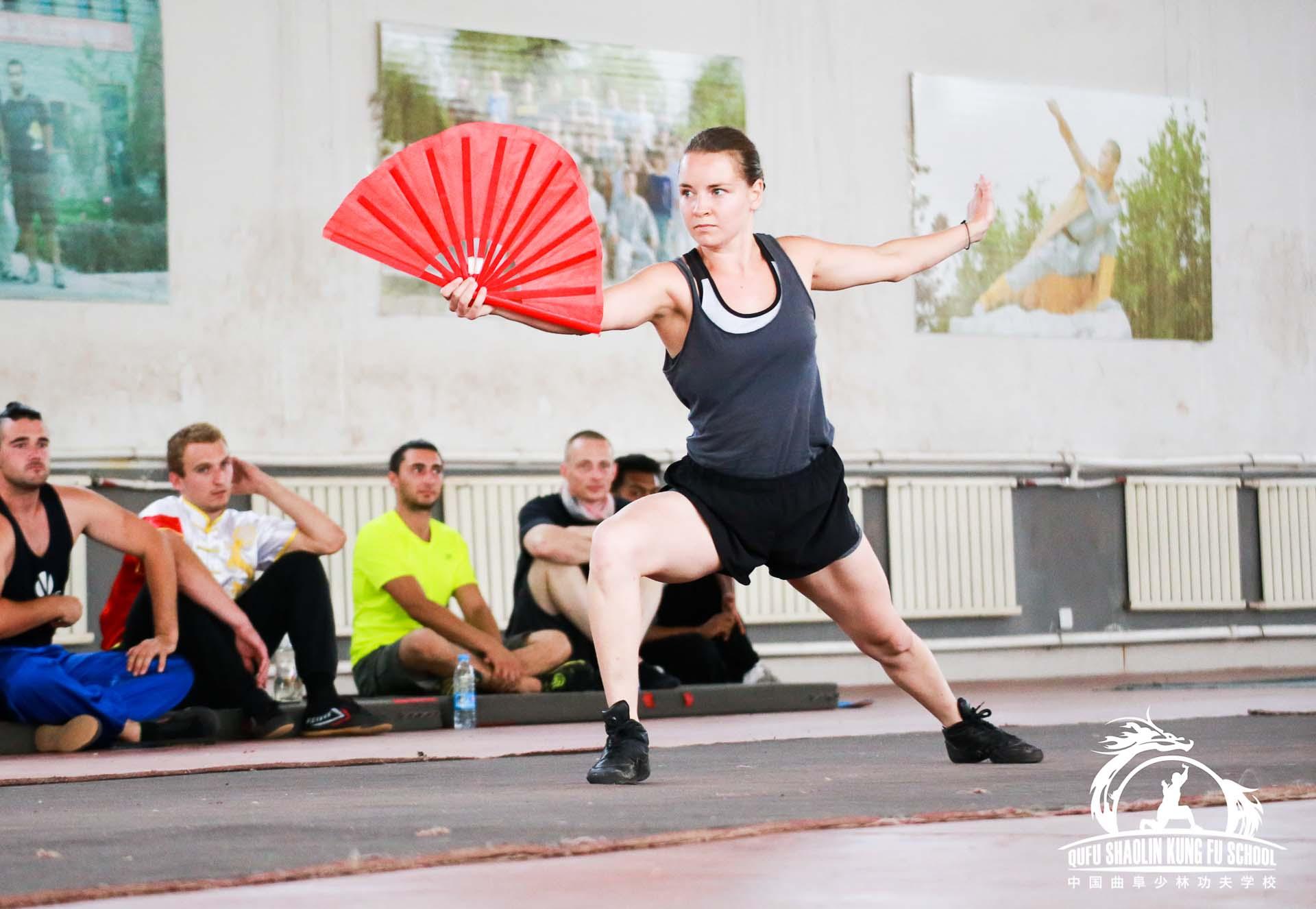 Kung Fu Fan Form