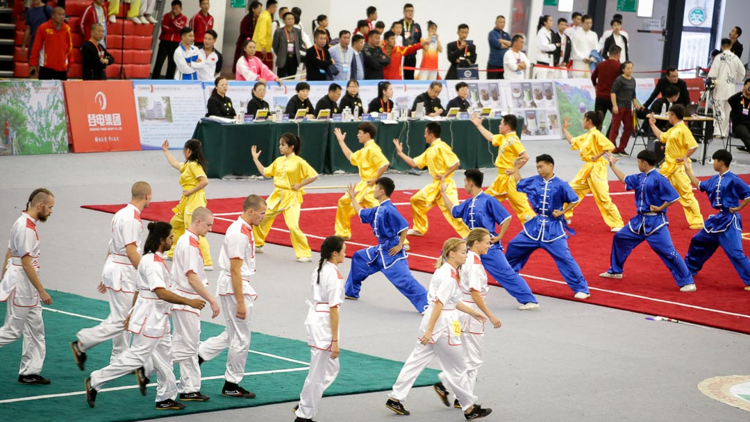 Kung Fu Group Performances