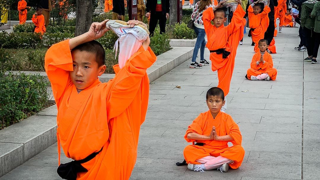 Shaolin Temple performance