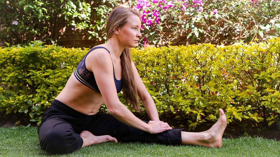 stretching exercises after long run