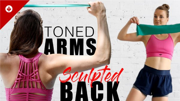toned arms and sculpted back workout