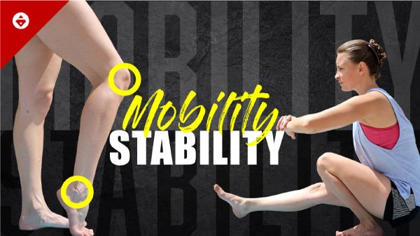 ankle mobility and stability workout