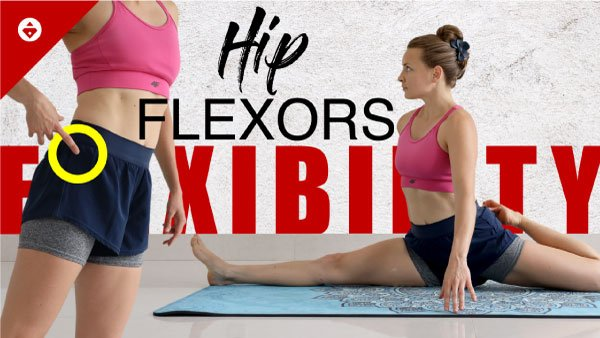 hip flexors stretches workout