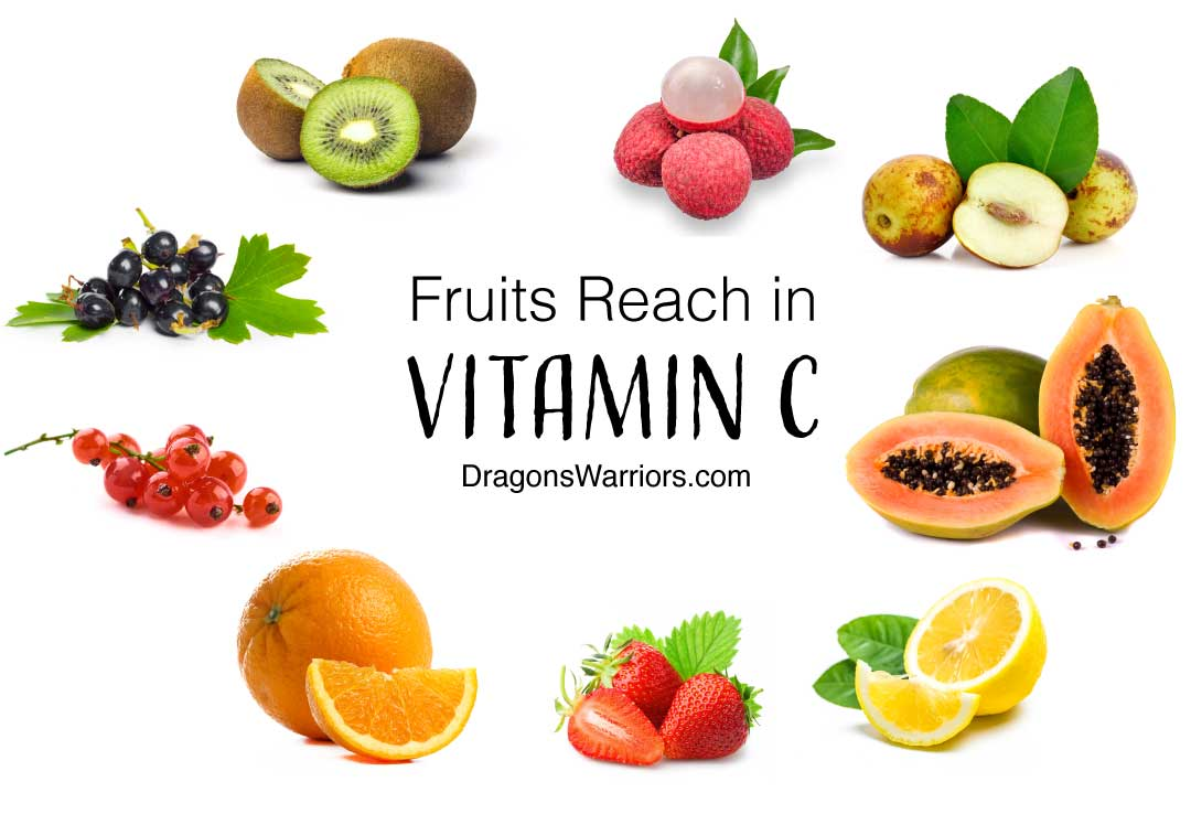 Vitamin C sources in fruits