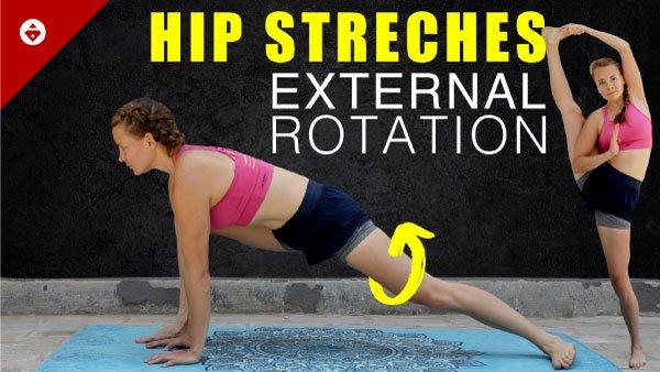 hip stretches for external hip rotation