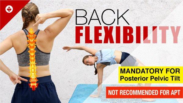 fix posterior pelvic tilt workout