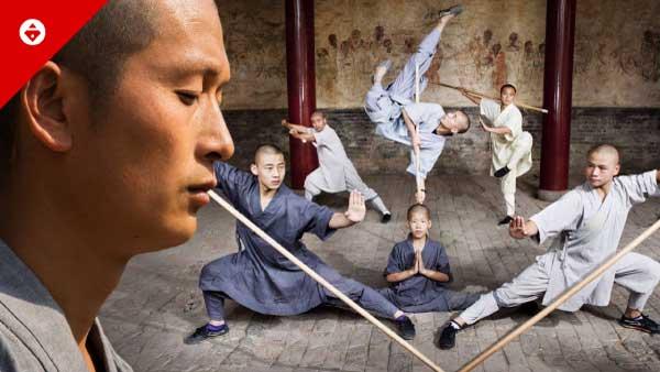 Shaolin Temple Warrior Monks