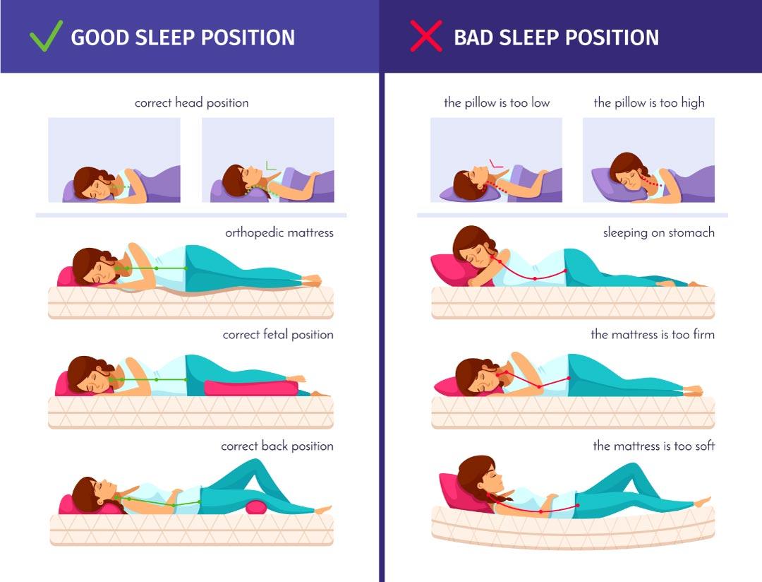 sleep comfortable